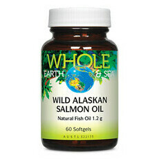 Whole Earth and Sea Wild Alaskan Salmon Oil