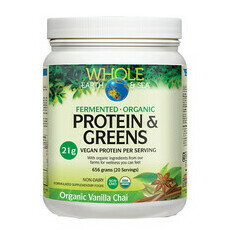 Whole Earth and Sea 100% Fermented Protein & Greens - Vanilla Chai