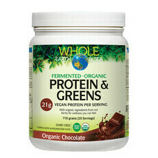 Whole Earth and Sea 100% Fermented Protein & Greens - Chocolate