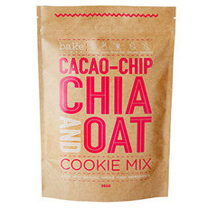 Bake Mixes Cacao-Chip, Chia & Oat Cookie Mix