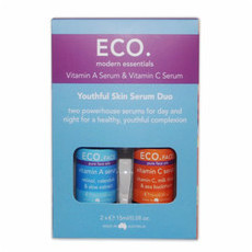 ECO. Face Youthful Skin Serum Duo - Vit A & Vit C