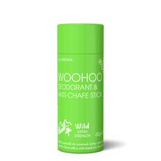 Woohoo All Natural Deodorant & Anti-Chafe Stick - Eco Tube - Wild