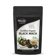 Morlife Certified Organic Maca Powder Black