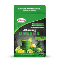 Morlife Alkalising Greens Lemon Lime
