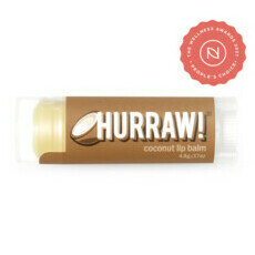 Hurraw! Organic Lip Balm - Coconut