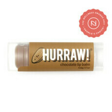 Hurraw! Organic Lip Balm - Chocolate