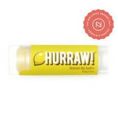 Hurraw! Organic Lip Balm - Lemon