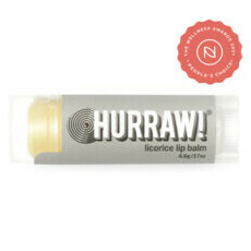 Hurraw! Organic Lip Balm - Licorice