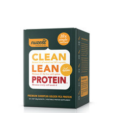 NuZest Clean Lean Protein Sachets - Natural