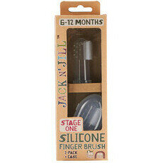 Jack  N' Jill Toothbrush - Silicone Finger Brush - Stage 1