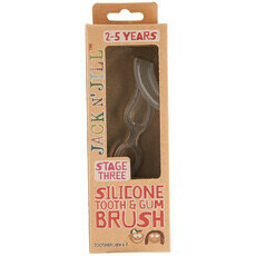 Jack N' Jill Toothbrush - Silicone Tooth & Gum Brush - Stage 3