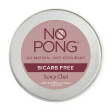 No Pong Spicy Chai Bicarb-Free Formulation