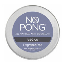 No Pong Fragrance Free, Vegan