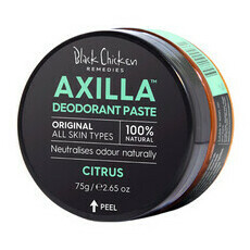 Black Chicken Axilla™ Deodorant Paste Original - Citrus