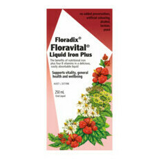 Floradix Floravital Herbal Liquid Iron Extract