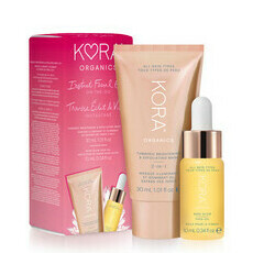 KORA Organics Instant Facial Glow On-the-Go Gift Set