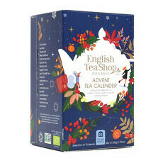 English Tea Shop Advent Calendar Tea Box - Navy