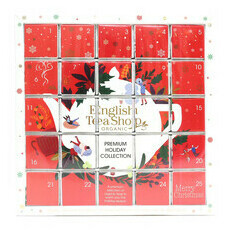 English Tea Shop Organic - Red Advent Calendar Puzzle