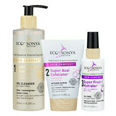 Eco by Sonya 3 Step System Pack with Exfoliator