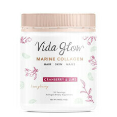 Vida Glow Marine Collagen - Cranberry and Lime