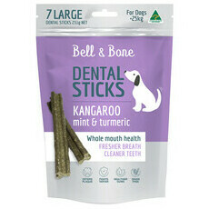 Bell and Bone Dental Stick - Kangaroo, Mint & Turmeric