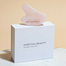 Habitual Beauty Rose Quartz Gua Sha