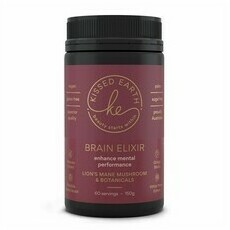 Kissed Earth Medicinal Mushrooms - Brain Elixir