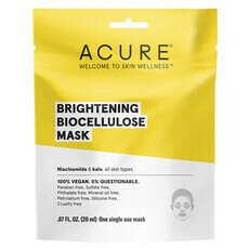 Acure Brightening Biocellulose Mask