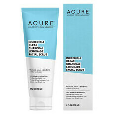 Acure Incredibly Clear Charcoal & Lemonade Facial Scrub