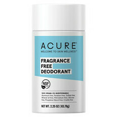 Acure Deodorant Fragrance Free
