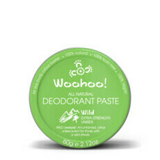 All Natural Deodorant Paste Tin - Wild