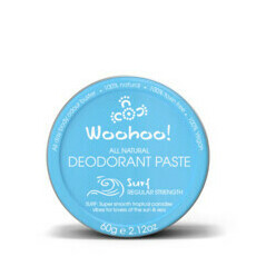Woohoo All Natural Deodorant Paste Tin - Surf