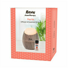Raww Pep Up Diffuser & Essential Oil Bundle