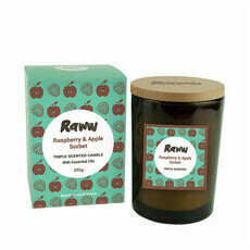Raww Sorbet Candle - Raspberry & Apple