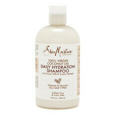 SheaMoisture Virgin Coconut Oil Daily Hydration Shampoo