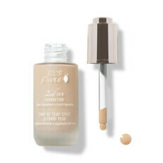 100% Pure 2nd Skin Foundation with Olive Squalane + Fruit Pigments - Shade 4 (Golden Peach)