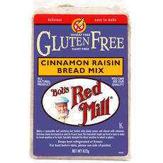 Bob's Red Mill Gluten Free Cinnamon Raisin Bread Mix
