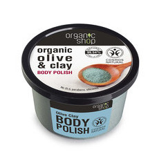 Organic Shop Body Polish - Organic Olive & Clay