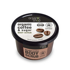 Organic Shop Body Scrub - Organic Coffee & Sugar