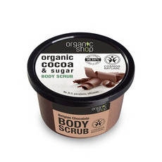 Organic Shop Body Scrub - Organic Cocoa & Sugar
