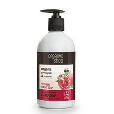 Organic Shop Hand Soap - Organic Pomegranate & Patchouli