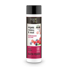 Organic Shop Bath Foam - Organic Raspberry & Acai
