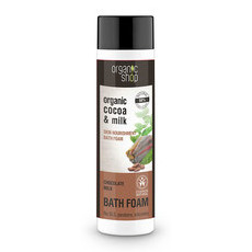 Organic Shop Bath Foam - Organic Cocoa & Milk