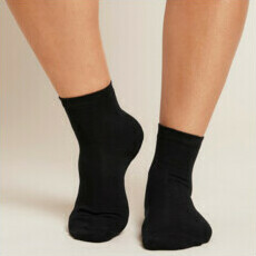 Boody Women's Everyday Socks - Black