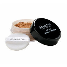 Benecos Natural Loose Mineral Powder - Golden Hazelnut