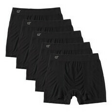 Boody Men's Original Boxers - 5 Pack - Black
