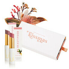 Lük Beautifood Kissmas Duo - Tea Rose & Nude Pink  Lip Nourish™