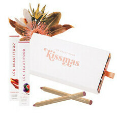 Luk Beautifood Kissmas Duo - Caramel Kiss & Fig Brulee Lip Crayons