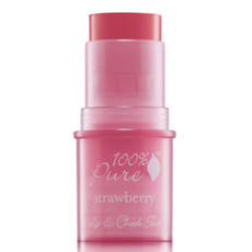 100% Pure Lip & Cheek Tint - Strawberry