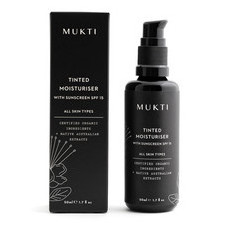 Mukti Tinted Moisturiser with Sunscreen (SPF 15)